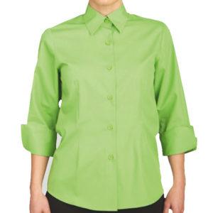 camisa-mujer-hosteleria-manga-francesa