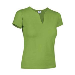 camiseta-mujer-verde-manzana