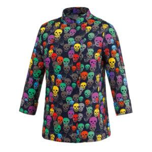 chaqueta-cocinero-estampada-colores-calavera