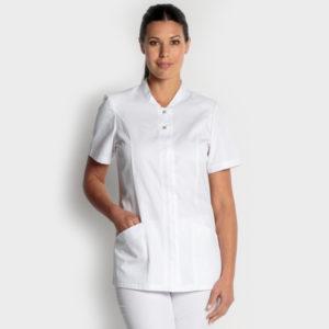chaqueta-senora-manga-corta-blanca