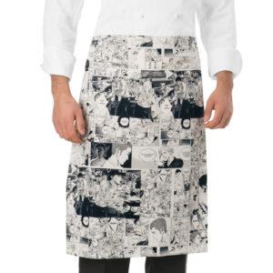 delantal-cocina-estampado-comic-blanco-negro