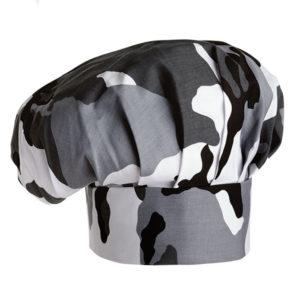 gorro-chef-camuflaje-blanco-negro-cocina