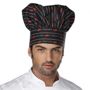 gorro-cocinero-negro-estampado-chili