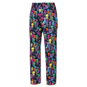 pantalon-cocinero-estampado-colores-calaveras