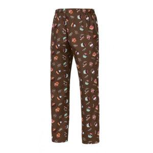 pantalon-cocinero-estampado-marron