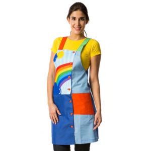 pichi-maestra-azul-colegio-arcoiris