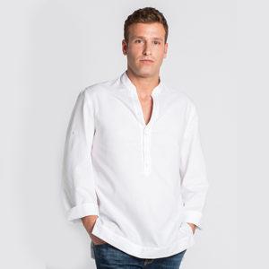 camisa-hosteleria-alimentación.caballero-blanco