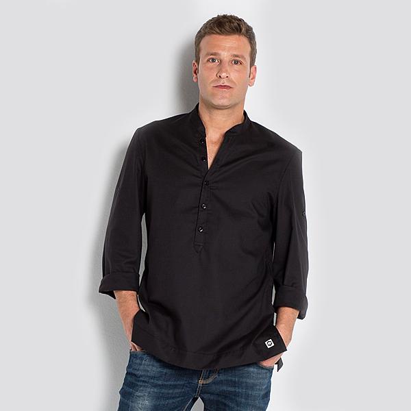 36c9d116c3a1a Camisa Negra Arenasmar para Caballero – Confecciones La Purísima