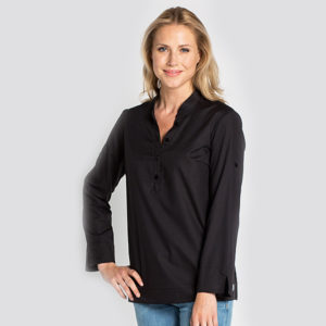camisa-negra-mujer-ibicenca-hosteleria