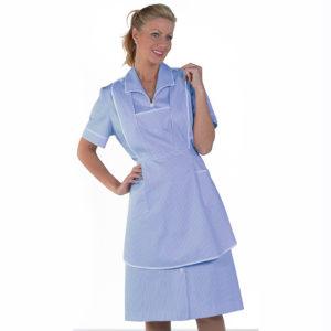 Uniforme mujer azul